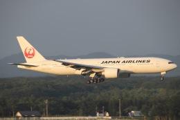 天王寺王子さんが、新千歳空港で撮影した日本航空 777-246/ERの航空フォト(飛行機 写真・画像)
