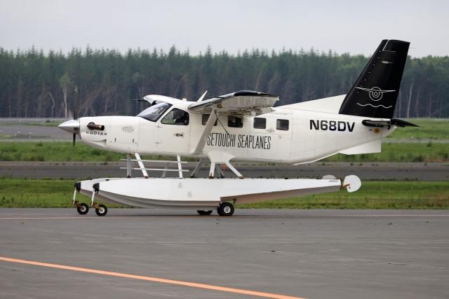 北の熊さんが、新千歳空港で撮影したDV AVIATION INCの航空フォト(飛行機 写真・画像)