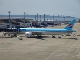 ukokkeiさんが、中部国際空港で撮影した大韓航空 777-3B5/ERの航空フォト(飛行機 写真・画像)