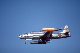 JAパイロットさんが、浜松基地で撮影した航空自衛隊 T-33Aの航空フォト(飛行機 写真・画像)
