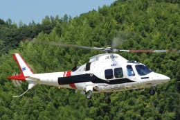 ラムさんが、静岡ヘリポートで撮影した静岡エアコミュータ AW109SP GrandNewの航空フォト(飛行機 写真・画像)