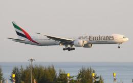 hs-tgjさんが、プーケット国際空港で撮影したエミレーツ航空 777-31H/ERの航空フォト(飛行機 写真・画像)
