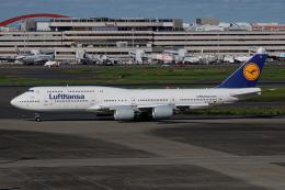 ゆーすきんさんが、羽田空港で撮影したルフトハンザドイツ航空 747-830の航空フォト(飛行機 写真・画像)