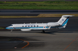 ゆーすきんさんが、羽田空港で撮影した海上保安庁 G-V Gulfstream Vの航空フォト(飛行機 写真・画像)