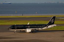 ゆーすきんさんが、羽田空港で撮影したスターフライヤー A320-214の航空フォト(飛行機 写真・画像)