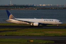 ゆーすきんさんが、羽田空港で撮影したユナイテッド航空 787-9の航空フォト(飛行機 写真・画像)