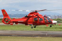 やまけんさんが、仙台空港で撮影した宮城県防災航空隊 AS365N3 Dauphin 2の航空フォト(飛行機 写真・画像)