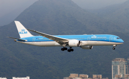 Asamaさんが、香港国際空港で撮影したKLMオランダ航空 787-9の航空フォト(飛行機 写真・画像)