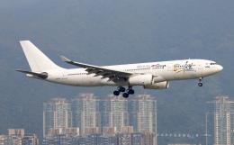 Asamaさんが、香港国際空港で撮影したアイ-フライ A330-243の航空フォト(飛行機 写真・画像)