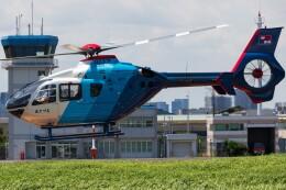 walker2000さんが、東京ヘリポートで撮影した中日新聞社 EC135P2の航空フォト(飛行機 写真・画像)