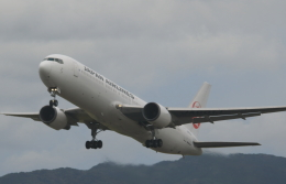 クリューさんが、鹿児島空港で撮影した日本航空 767-346/ERの航空フォト(飛行機 写真・画像)