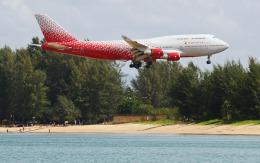 hs-tgjさんが、プーケット国際空港で撮影したロシア航空 747-446の航空フォト(飛行機 写真・画像)