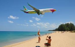 hs-tgjさんが、プーケット国際空港で撮影したノックエア 737-86Jの航空フォト(飛行機 写真・画像)