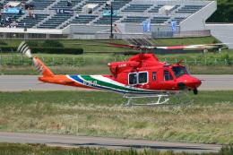 なごやんさんが、松本空港で撮影した長野県消防防災航空隊 412EPIの航空フォト(飛行機 写真・画像)