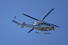 レドームさんが、羽田空港で撮影した海上保安庁 412EPの航空フォト(飛行機 写真・画像)