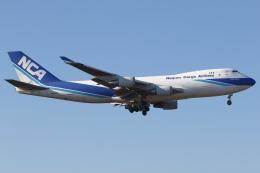 kinsanさんが、成田国際空港で撮影した日本貨物航空 747-4KZF/SCDの航空フォト(飛行機 写真・画像)