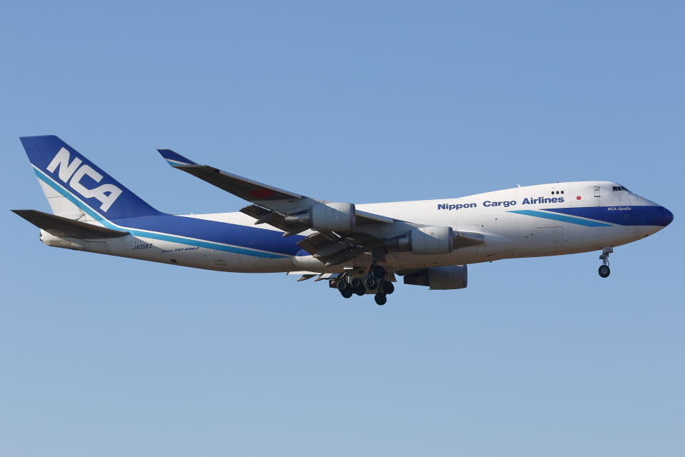 kinsanさんの日本貨物航空 Boeing 747-400 (JA05KZ) 航空フォト