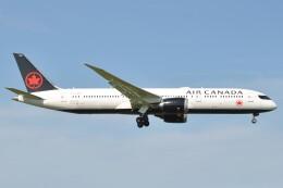 fly A340さんが、成田国際空港で撮影したエア・カナダ 787-9の航空フォト(飛行機 写真・画像)