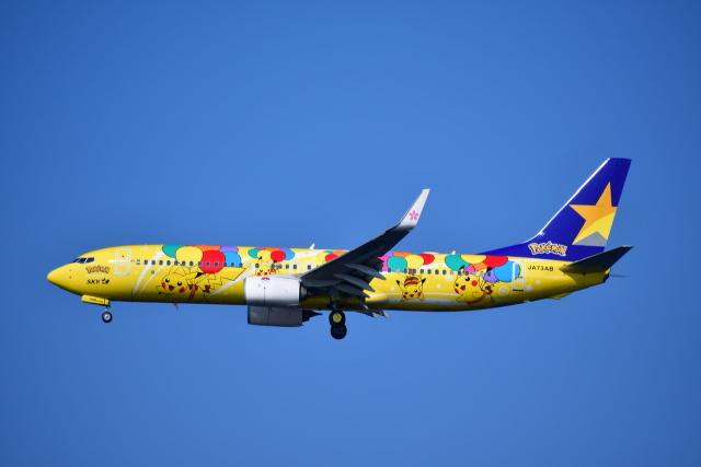 チョロ太さんが、羽田空港で撮影したスカイマーク 737-8ALの航空フォト(飛行機 写真・画像)