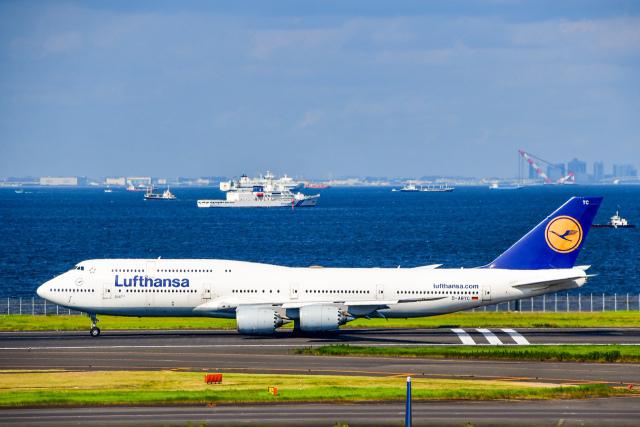 チョロ太さんが、羽田空港で撮影したルフトハンザドイツ航空 747-130の航空フォト(飛行機 写真・画像)
