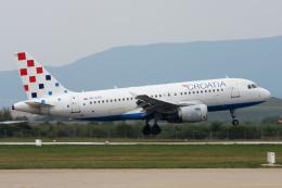 kinsanさんが、ザグレブ空港で撮影したクロアチア航空 A319-112の航空フォト(飛行機 写真・画像)