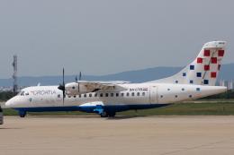 kinsanさんが、ザグレブ空港で撮影したクロアチア航空 ATR 42-300QCの航空フォト(飛行機 写真・画像)