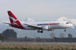 kinsanさんが、クライストチャーチ国際空港で撮影したエクスプレス・フレイターズ 737-376(SF)の航空フォト(飛行機 写真・画像)