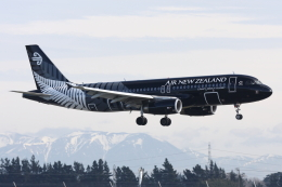 kinsanさんが、クライストチャーチ国際空港で撮影したニュージーランド航空 A320-232の航空フォト(飛行機 写真・画像)