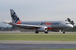 kinsanさんが、クライストチャーチ国際空港で撮影したジェットスター A320-232の航空フォト(飛行機 写真・画像)