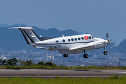 またぁりさんが、静岡空港で撮影したフランス企業所有 200 Super King Airの航空フォト(飛行機 写真・画像)