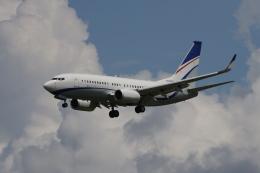 マーサさんが、成田国際空港で撮影した現代自動車 737-7GE(BBJ)の航空フォト(飛行機 写真・画像)