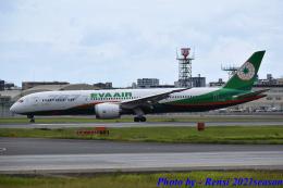 れんしさんが、福岡空港で撮影したエバー航空 787-9の航空フォト(飛行機 写真・画像)