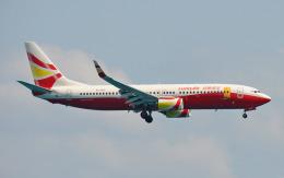 hs-tgjさんが、プーケット国際空港で撮影した雲南祥鵬航空 737-84Pの航空フォト(飛行機 写真・画像)