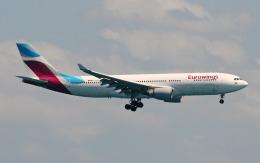 hs-tgjさんが、プーケット国際空港で撮影したユーロウイングス A330-203の航空フォト(飛行機 写真・画像)
