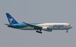 hs-tgjさんが、プーケット国際空港で撮影したイカル 767-3Q8/ERの航空フォト(飛行機 写真・画像)