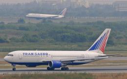 hs-tgjさんが、スワンナプーム国際空港で撮影したトランスアエロ航空 767-201/ERの航空フォト(飛行機 写真・画像)