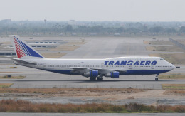 hs-tgjさんが、スワンナプーム国際空港で撮影したトランスアエロ航空 747-346の航空フォト(飛行機 写真・画像)