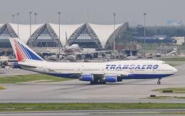hs-tgjさんが、スワンナプーム国際空港で撮影したトランスアエロ航空 747-444の航空フォト(飛行機 写真・画像)
