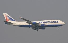 hs-tgjさんが、スワンナプーム国際空港で撮影したトランスアエロ航空 747-4F6の航空フォト(飛行機 写真・画像)