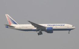 hs-tgjさんが、スワンナプーム国際空港で撮影したトランスアエロ航空 777-212/ERの航空フォト(飛行機 写真・画像)