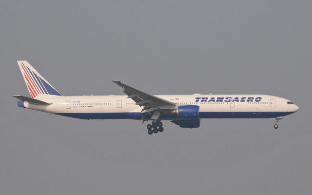 hs-tgjさんが、スワンナプーム国際空港で撮影したトランスアエロ航空 777-312の航空フォト(飛行機 写真・画像)