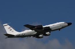 チャーリーマイクさんが、横田基地で撮影したアメリカ空軍 RC-135S (717-148)の航空フォト(飛行機 写真・画像)