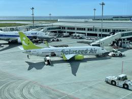 M.airphotoさんが、那覇空港で撮影したソラシド エア 737-86Nの航空フォト(飛行機 写真・画像)