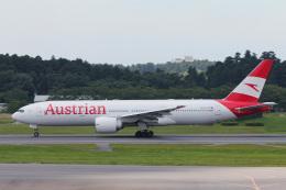 かっちゃん✈︎さんが、成田国際空港で撮影したオーストリア航空 777-2Z9/ERの航空フォト(飛行機 写真・画像)