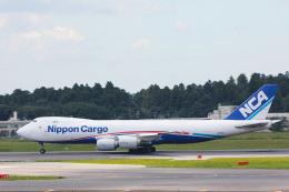 かっちゃん✈︎さんが、成田国際空港で撮影した日本貨物航空 747-8KZF/SCDの航空フォト(飛行機 写真・画像)