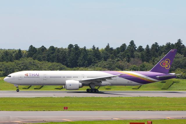 かっちゃん✈︎さんが、成田国際空港で撮影したタイ国際航空 777-3D7/ERの航空フォト(飛行機 写真・画像)