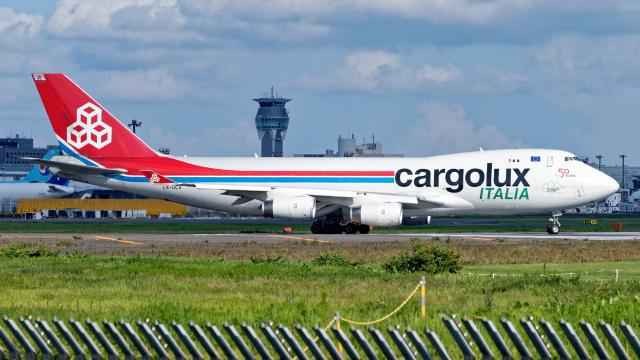 Cozy Gotoさんが、成田国際空港で撮影したカーゴルクス・イタリア 747-4R7Fの航空フォト(飛行機 写真・画像)
