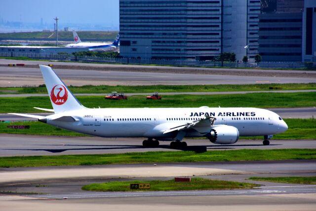 まいけるさんが、羽田空港で撮影した日本航空 787-9の航空フォト(飛行機 写真・画像)