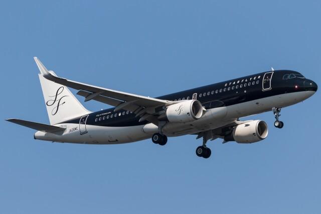 walker2000さんが、羽田空港で撮影したスターフライヤー A320-214の航空フォト(飛行機 写真・画像)