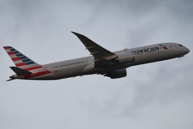 木人さんが、成田国際空港で撮影したアメリカン航空 787-9の航空フォト(飛行機 写真・画像)